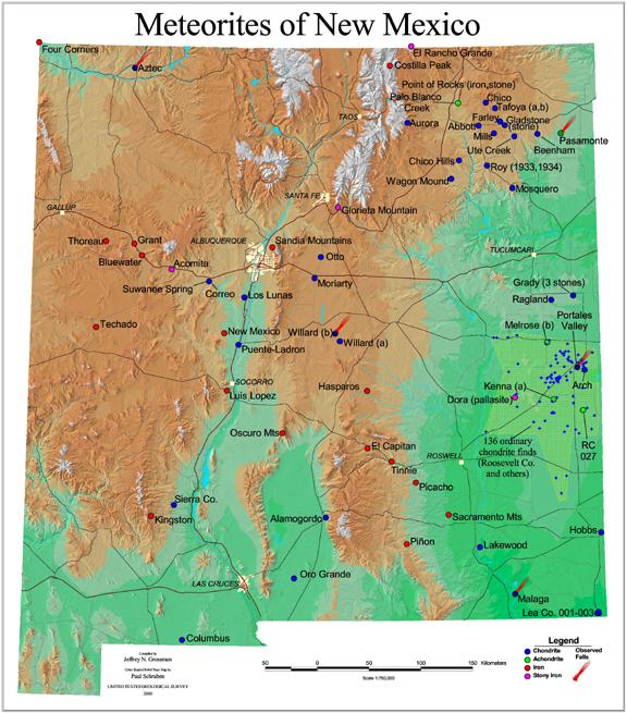 New Mexico Meteorites